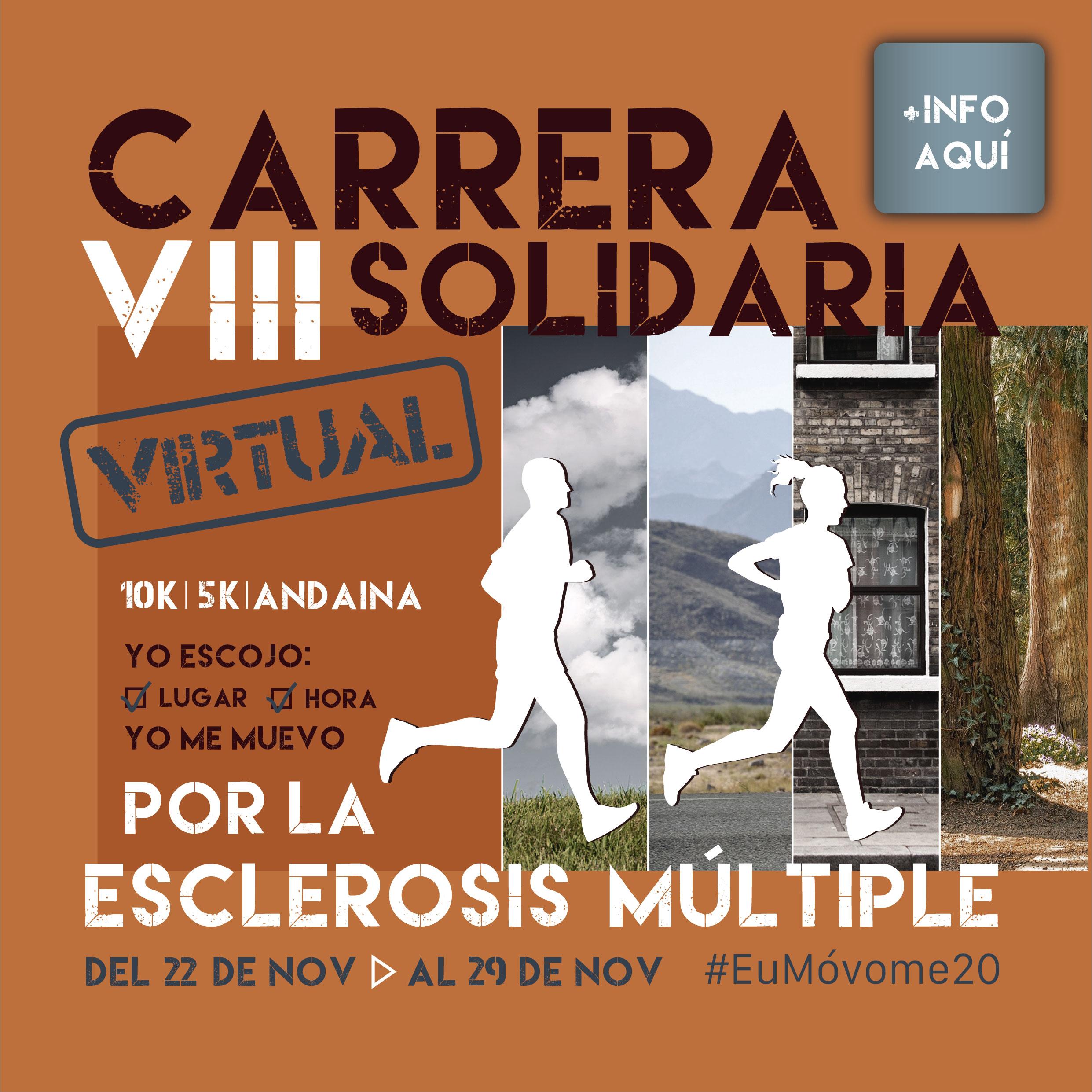 VIII Carrera Solidaria por la Esclerosis Múltiple - Eu Móvome - VIRTUAL