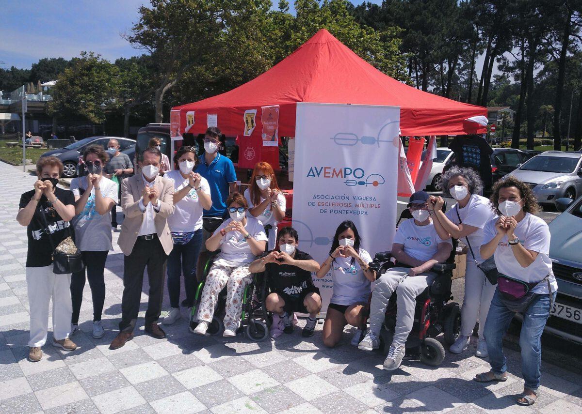 Vigo se vuelca con AVEMPO en el Día Mundial de la Esclerosis Múltiple